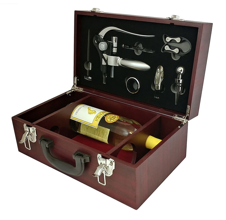 Deluxe Hazel Set with Wine Bottle Storage