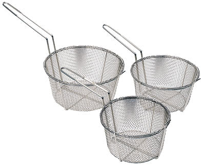 Wire Fry Baskets - Nickel Plated