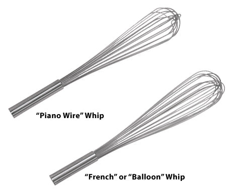 Wire Whips - Stainless Steel