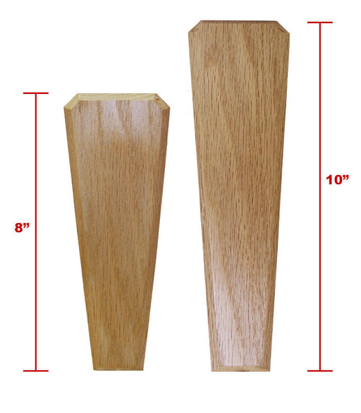 Oak Wood Beer Tap Handles - Flared Shape - I'd Tap That - COMPARE