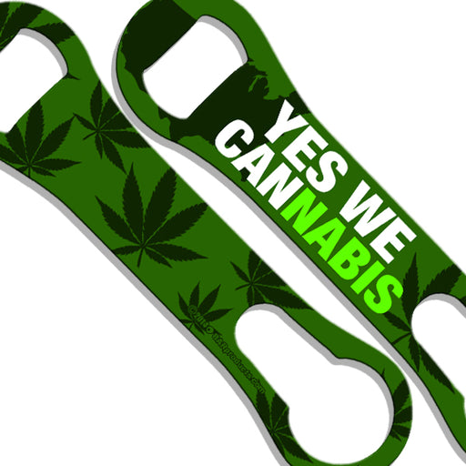 Yes We Cannabis V-Rod® Bottle Opener