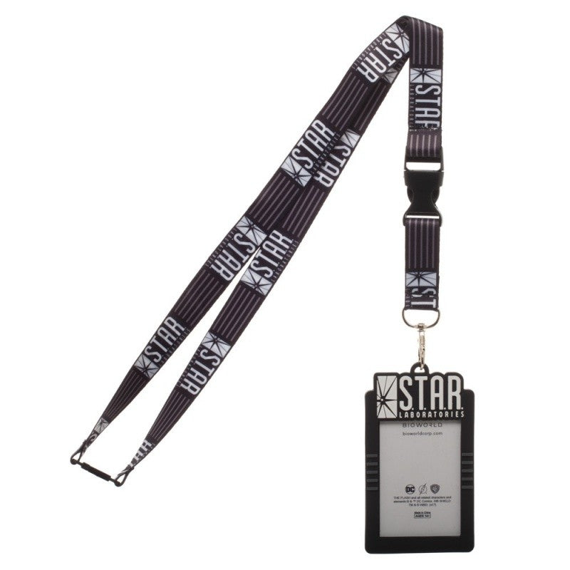 Official DC Comics - the Flash - Star Laboratories ID lanyard