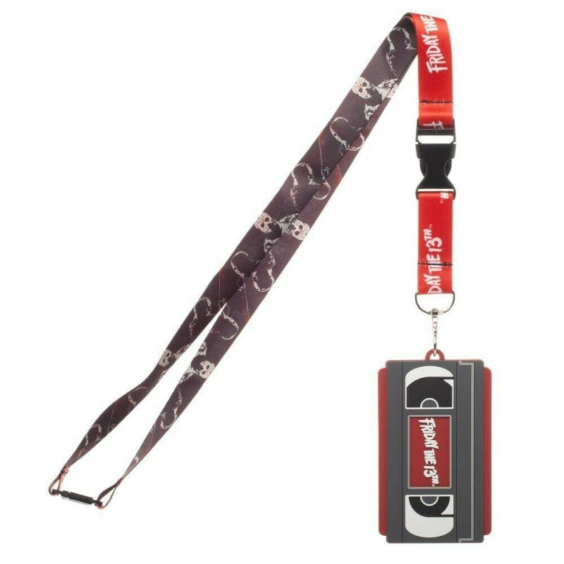 Official Friday the 13th vhs tape Jason Voorhees lanyard