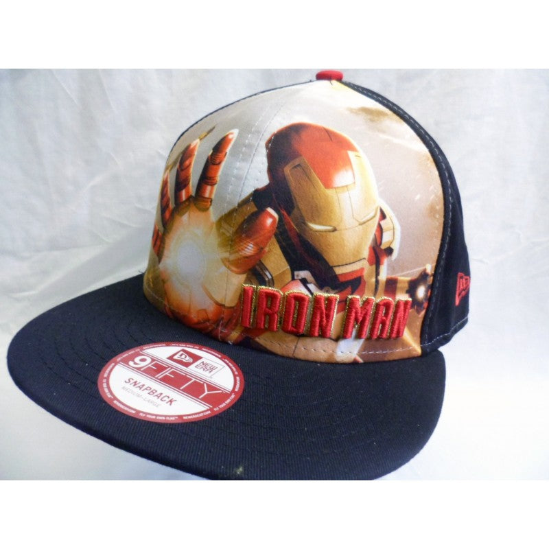 Iron man 9fifty new era snapback cap