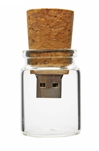 Wishing bottle USB flash drive