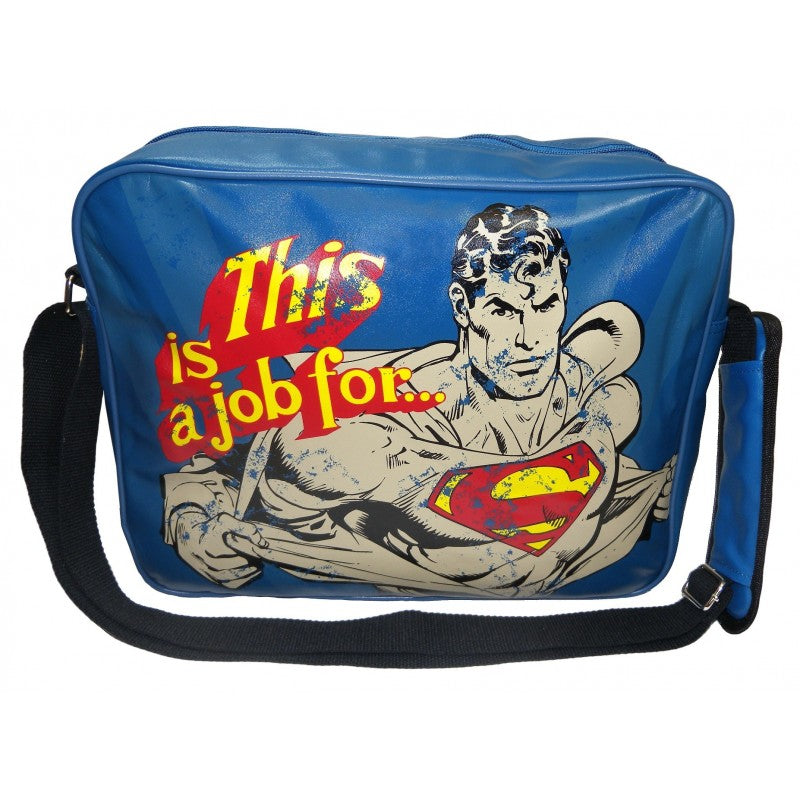 'This is a job for..' Superman messenger shoulder bag