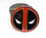 Marvel comics Deadpool round buckle with belt