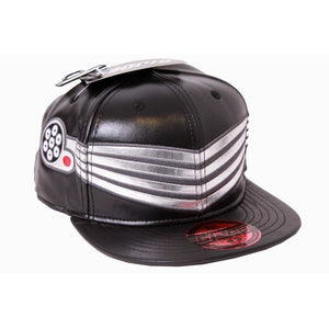 Official G.I. Joe Snake Eyes costume PU black snapback cap