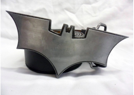 Grey the dark knight buckle with belt