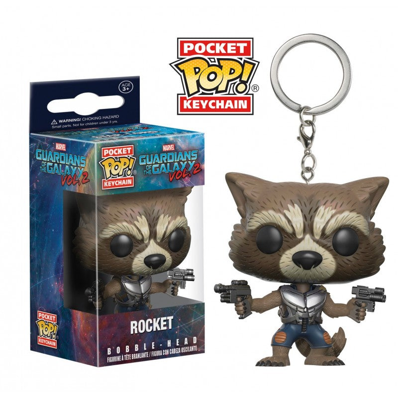 Official Marvel's Guardians of the galaxy vol.2 - Rocket raccoon pop! Vinyl keyring