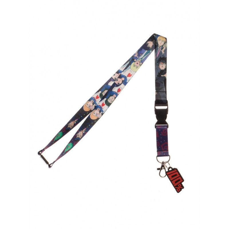 Official Mob Psycho 100 - characters lanyard