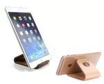 Wooden stand for tablet / phone