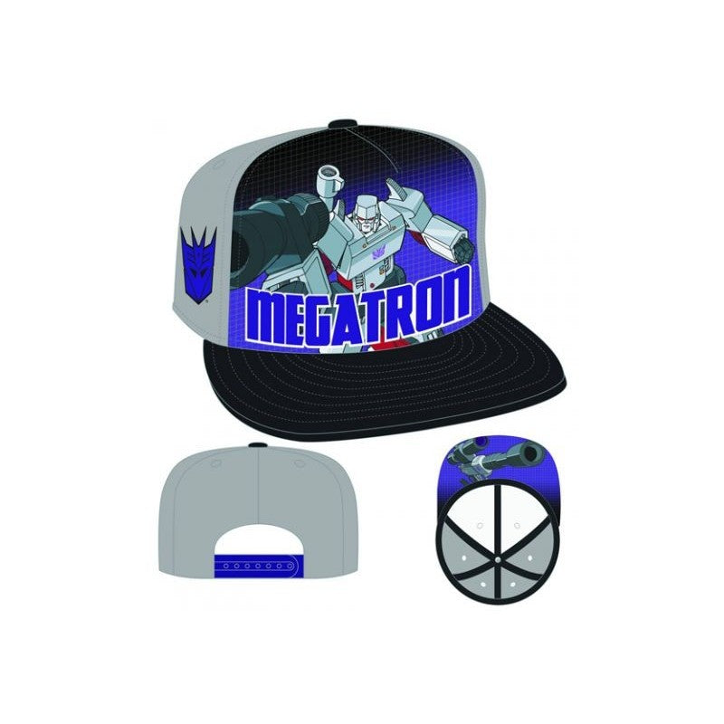 Official Transformers Decepticon Megatron new era snapback cap