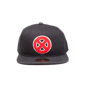 Official Marvel comics - X-men red symbol black snapback cap