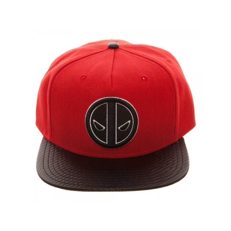 Official Marvel comics - Deadpool carbon fiber styled red snapback cap