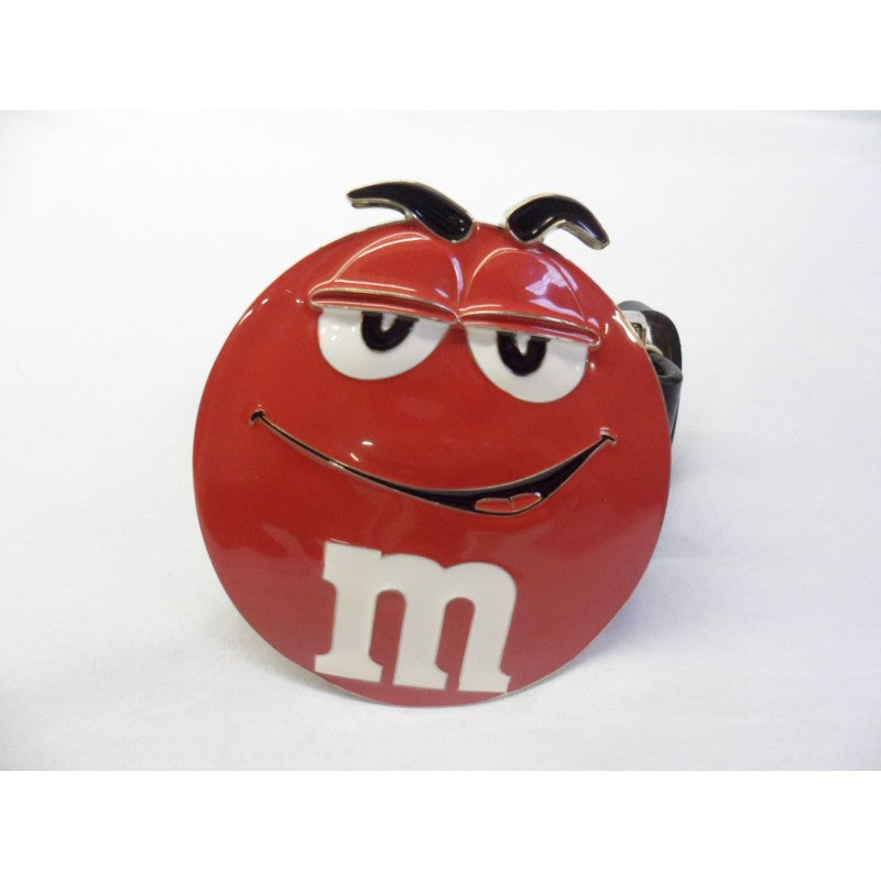 Red M&M buckle with belt