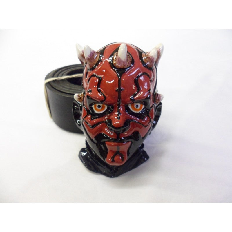 Massive Star wars Darth Maul 3D buckle with belt