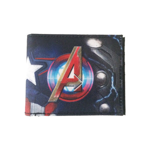 Marvel comics Avengers sublimated armor bi-fold wallet