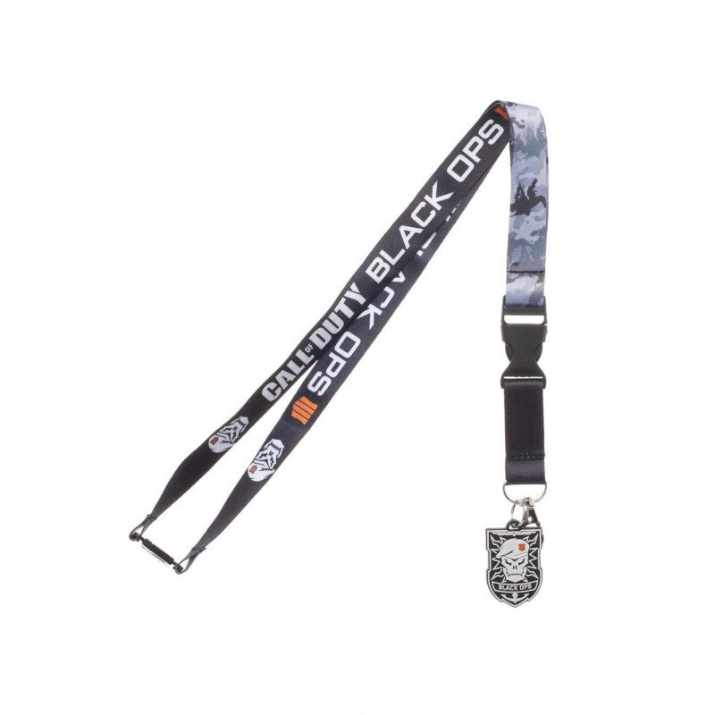 Official Call of duty black ops 4 printed lanyard