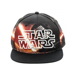 Star wars symbol all over Kylo Ren print snapback cap