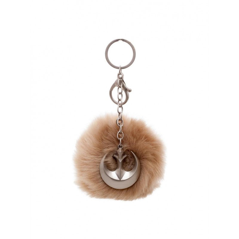 Official Star wars - Rebel alliance symbol fury pom handbag charm keyring