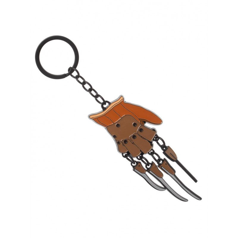 A nightmare on Elm street Freddy Krueger claw / glove metal keyring