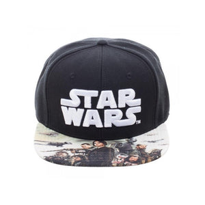 Official Rogue one: a Star wars story symbol snapback cap with printed visor