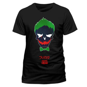 DC Comics Suicide squad - the Joker icon black t-shirt