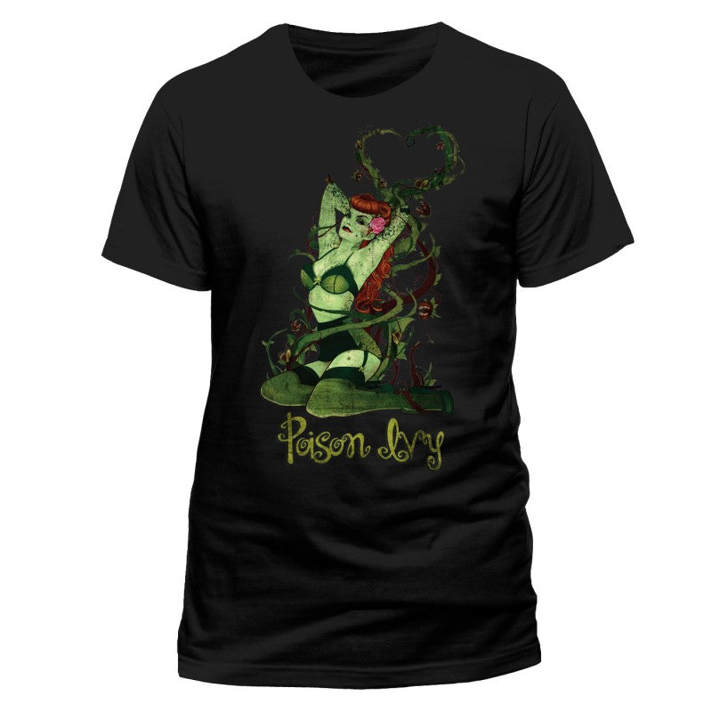 Official DC Comics Batman: Poison Ivy black t-shirt