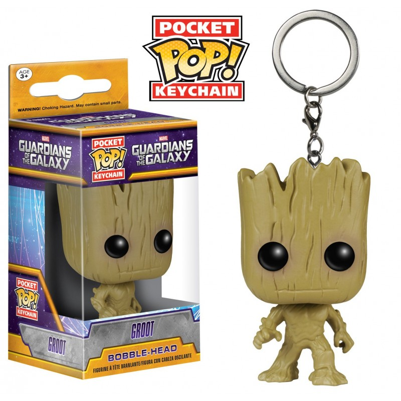 Official Marvel's Guardians of the galaxy vol.2 - Groot pop! Vinyl keyring