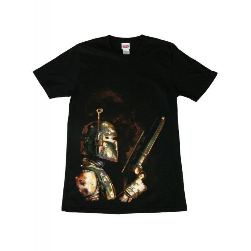 Star wars Boba Fett bounty hunter black t-shirt