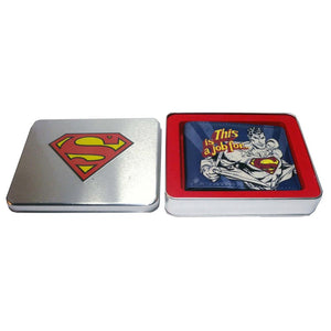 'This is a job for..' Superman wallet in Tin