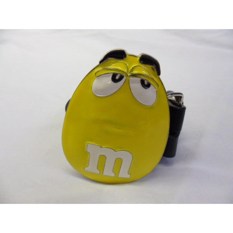 Yellow M&M buckle with belt