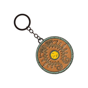 Nintendo - the legend of Zelda shield metal keyring