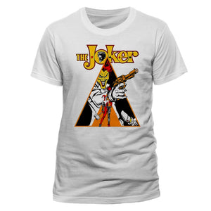 Official DC Comics the Joker & Harley Quinn a clockwork orange art white t-shirt