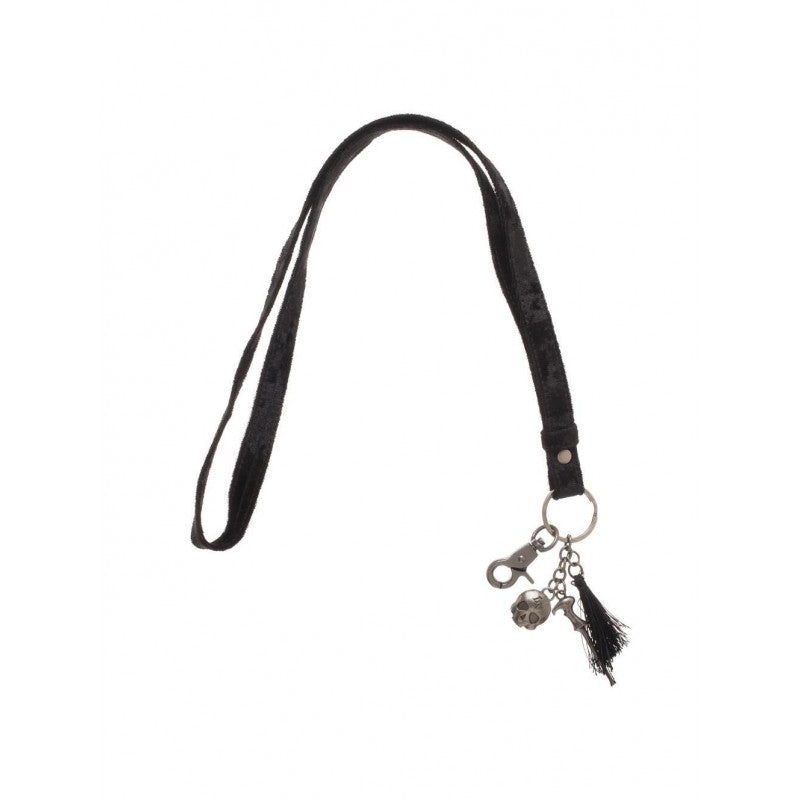 Official Harry Potter - Voldemort want black fabric lanyard