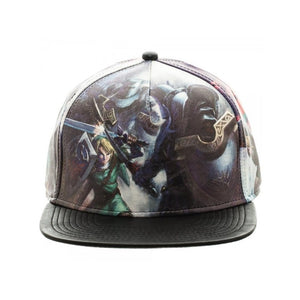 Official the legend of Zelda: twilight princess all over print PU snapback cap