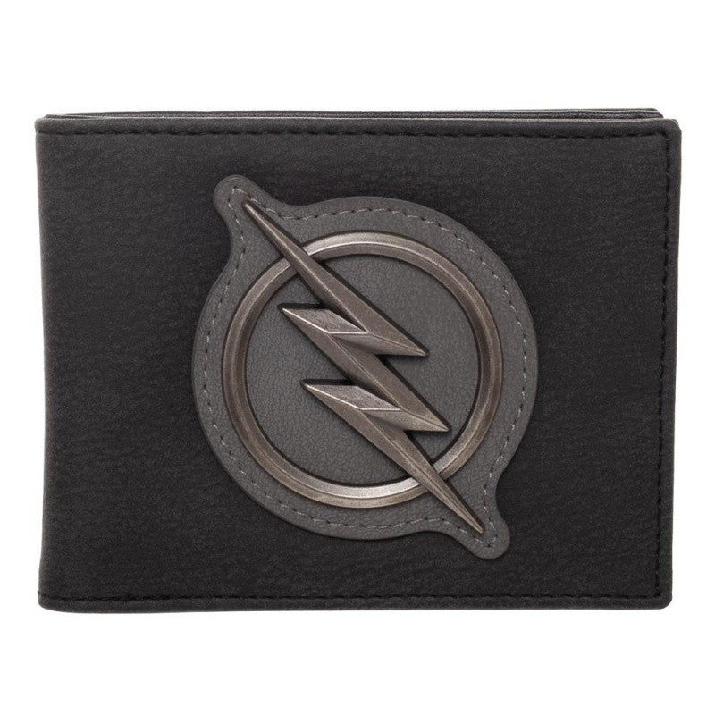 Official DC comics the Flash - zoom symbol black bi-fold wallet