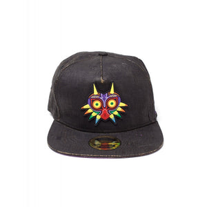Official Nintendo - the legend of Zelda Majora's mask black cork snapback cap