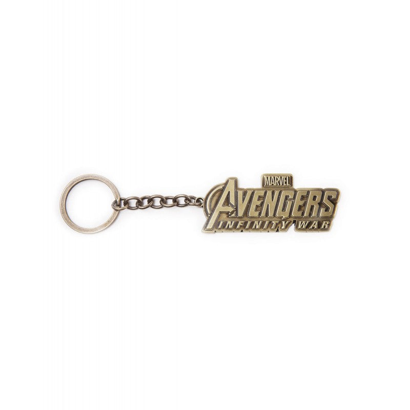 Official Marvel comics - Avengers: infinity wars logo metal keyring