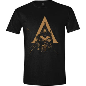 Official Assassin's creed: Odyssey character logo black t-shirt