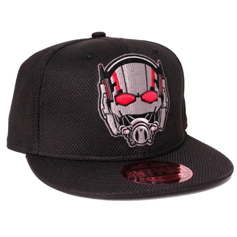 Marvel comics Ant-man helmet / mask embroidered snapback cap
