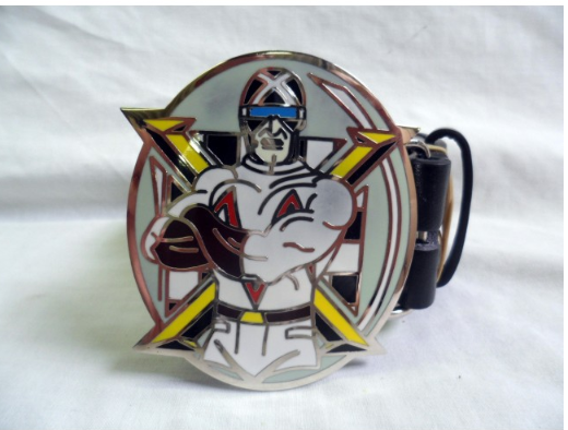 Speed racer 'Mach Gogogo' Racer X (the masked racer) buckle with belt