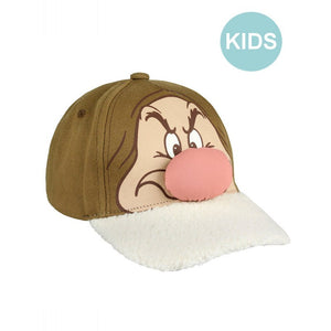 Disney - Snow white and the seven dwarfs - Grumpy hook and loop baseball cap (kids)