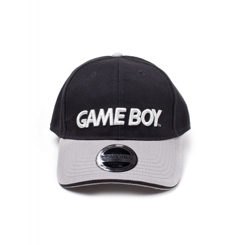 Official Nintendo - Game Boy logo black curved bill baseball cap