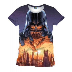 Star wars Darth Vader menacing all over print sublimation t-shirt