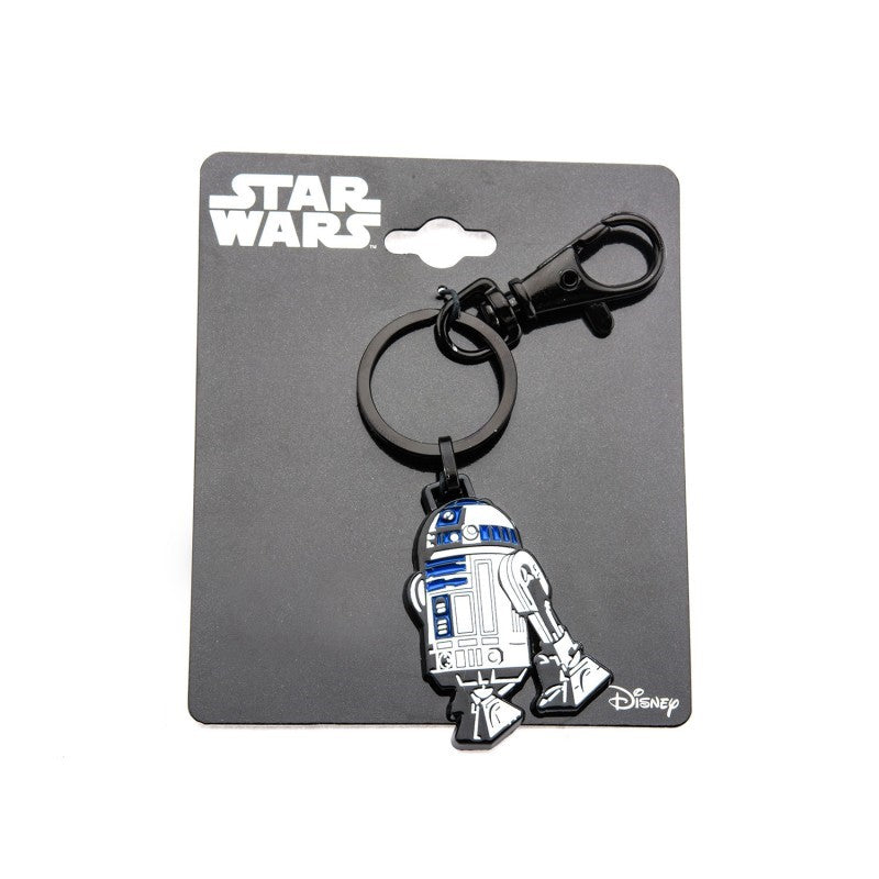 Official Star wars - R2-D2 enamel metal keyring