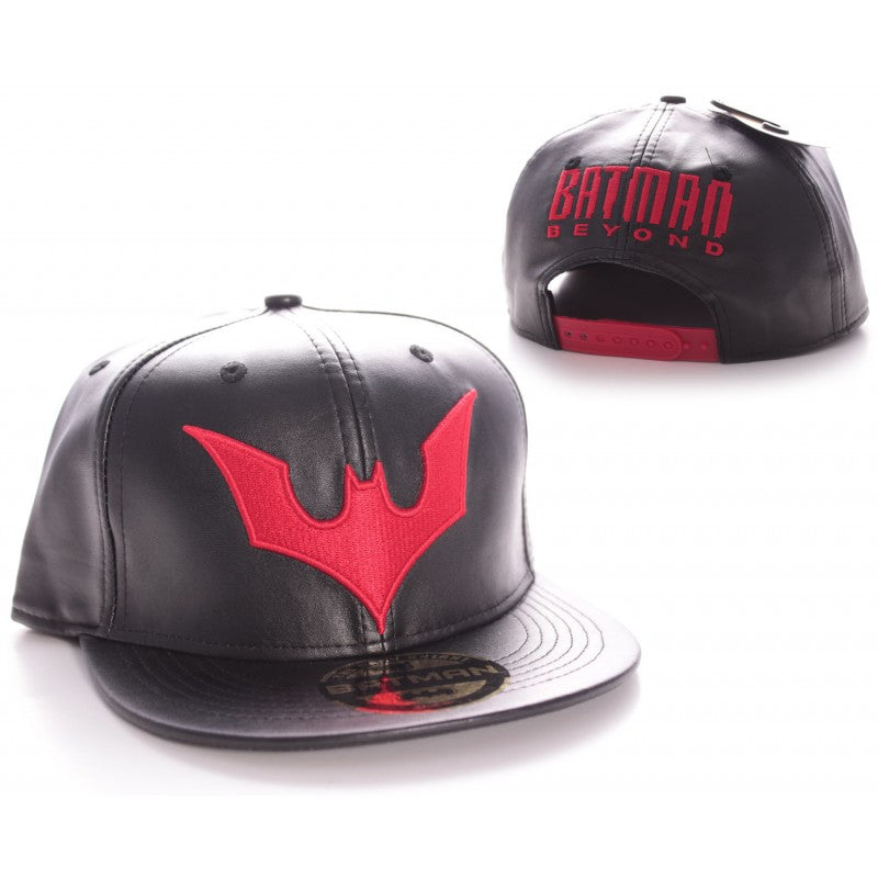 DC Comics Batman beyond symbol black snapback cap
