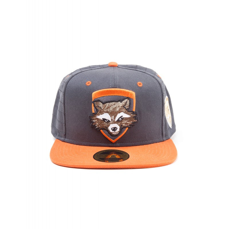 Official Marvel's Guardians of the galaxy 2 - Rocket raccoon snapback cap