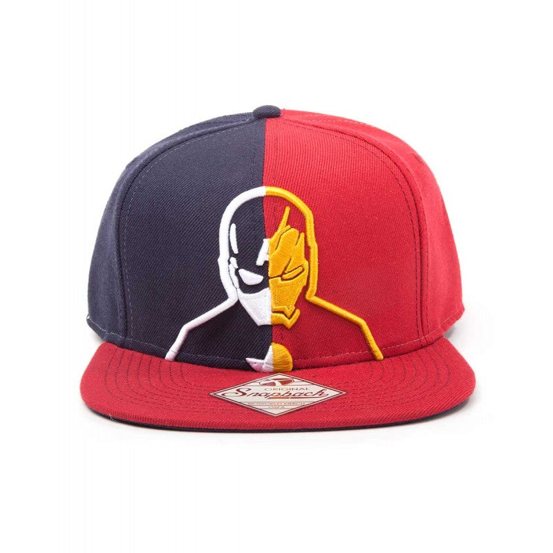 Marvel comics Captain America civil war cap / Iron man split snapback cap